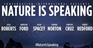nature speaking